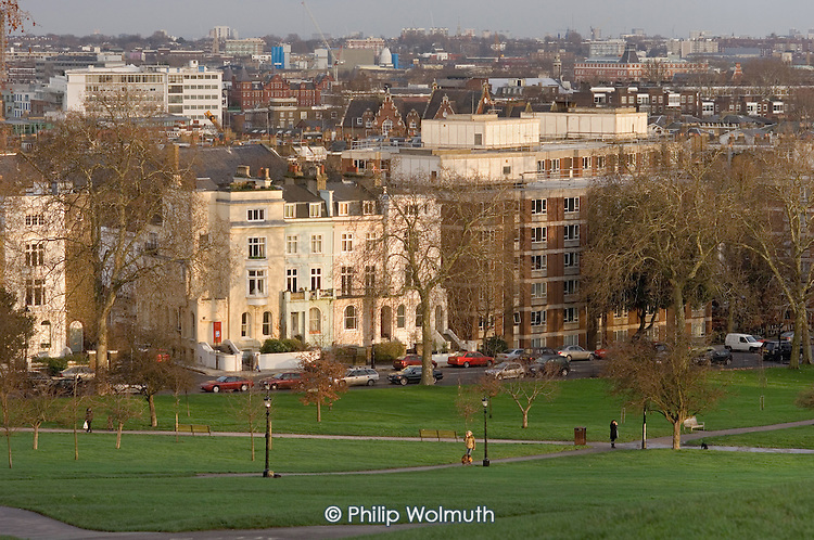 Primrose Hill, Camden, London.