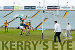 Killian Falvey Kerry scores his side's second goal against Roscommon in the Kerry v Roscommon All Ireland Minor Quarter Final at the Gaelic Grounds in Limerick on Saturday.