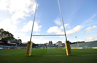 A general view of the Recreation Ground before the match. Aviva Premiership match, between Bath Rugby and Saracens on October 3, 2014 at the Recreation Ground in Bath, England. Photo by: Patrick Khachfe / Onside Images