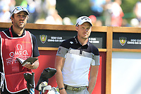 Danny Willett (ENG) on the 6th tee during Saturday's Round 3 of the 2018 Omega European Masters, held at the Golf Club Crans-Sur-Sierre, Crans Montana, Switzerland. 8th September 2018.<br /> Picture: Eoin Clarke | Golffile<br /> <br /> <br /> All photos usage must carry mandatory copyright credit (&copy; Golffile | Eoin Clarke)