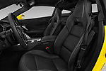 Front seat view of a 2019 Chevrolet Corvette Z06 Coupe 1LZ 3 Door Targa front seat car photos