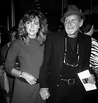"""Nicole Fosse and Bob Fosse attend the """"Amadeus"""" Premiere - September 12, 1984 at Lowe's Tower East Theater in New York, New York, United States."""