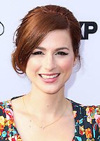 HOLLYWOOD, LOS ANGELES, CA, USA - JULY 14: Aya Cash at the Los Angeles Premiere Of FX's 'You're The Worst' And 'Married' held at Paramount Studios on July 14, 2014 in Hollywood, Los Angeles, California, United States. (Photo by Xavier Collin/Celebrity Monitor)