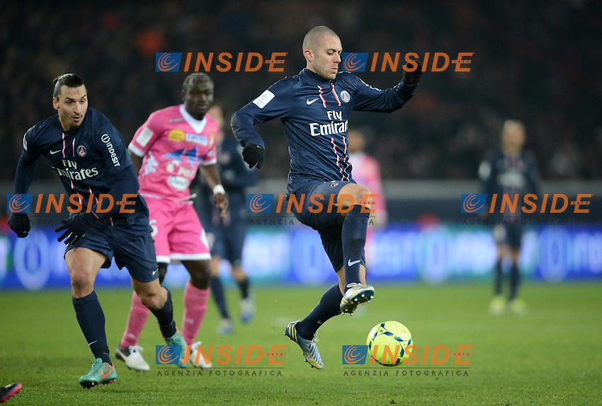 Jeremy Menez (PSG)  .Football Calcio 2012/2013.Ligue 1 Francia.Foto Panoramic / Insidefoto .ITALY ONLY