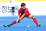 Hirotaka Zendana (JPN), <br /> AUGUST 20, 2018 - Hockey : <br /> Men's Group A match <br /> between Japan 11-0 Sri Lanka <br /> at Gelora Bung Karno Hockey Field <br /> during the 2018 Jakarta Palembang Asian Games <br /> in Jakarta, Indonesia. <br /> (Photo by Naoki Morita/AFLO SPORT)