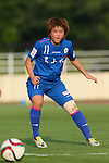 Misaki Nara (Elfen), <br /> JULY 12, 2015 - Football / Soccer : <br /> 2015 Plenus Nadeshiko League Division 1 <br /> between NTV Beleza 1-0 AS Elfen Saitama <br /> at Hitachinaka Stadium, Ibaraki, Japan. <br /> (Photo by YUTAKA/AFLO SPORT)