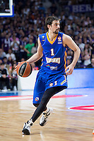 Khimki Moscow's Alexey Shved during Euroleague match at Barclaycard Center in Madrid. April 07, 2016. (ALTERPHOTOS/Borja B.Hojas) /NortePhoto