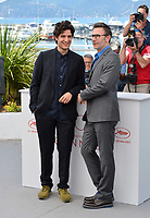 Louis Garrel &amp; Michel Hazanavicius at the photocall for &quot;The Formidable&quot; (Le Redoutable) at the 70th Festival de Cannes, Cannes, France. 21 May 2017<br /> Picture: Paul Smith/Featureflash/SilverHub 0208 004 5359 sales@silverhubmedia.com