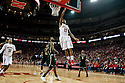 February 23, 2014: Ray Gallegos (15) of the Nebraska Cornhuskers makes a lay up against the Purdue Boilermakers during the second half at the Pinnacle Bank Arena, Lincoln, NE. Nebraska 76 Purdue 57.