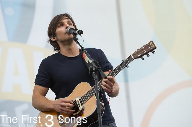 Charlie Worsham performs on Day One of the 2014 CMA Music Festival in Nashville, Tennessee.