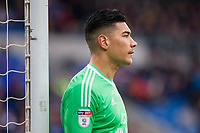 Neil Etheridge of Cardiff City during the Sky Bet Championship match between Cardiff City and Sunderland at the Cardiff City Stadium, Cardiff, Wales on 13 January 2018. Photo by Mark  Hawkins / PRiME Media Images.