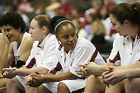 20 March 2006: Markisha Coleman during Stanford's 88-70 win over Florida State in the second round of the NCAA Women's Basketball championships at the Pepsi Center in Denver, CO.