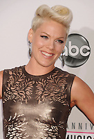 LOS ANGELES, CA - NOVEMBER 18: Pink attends the 40th Anniversary American Music Awards held at Nokia Theatre L.A. Live on November 18, 2012 in Los Angeles, California.PAP1112JP313..PAP1112JP313..
