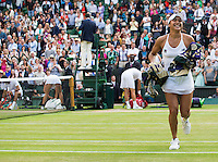 HEATHER WATSON (GBR)<br /> <br /> TENNIS - THE CHAMPIONSHIPS - WIMBLEDON - ATP - WTA - ITF - GRAND SLAM - CHAMPIONSHIPS - LONDON - GREAT  BRITAIN - 2016  <br /> <br /> <br /> <br /> &copy; TENNIS PHOTO NETWORK