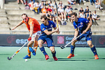 Barcelona, Spain, October 04: During the EHL KO16 field hockey match between Mannheimer HC and CA Montrouge  on October 4, 2019 at Pau Negre in Barcelona, Spain. Final score 6-0. (Copyright Dirk Markgraf / 265-images.com) ***