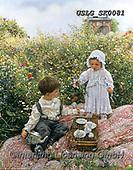 CHILDREN, KINDER, NIÑOS, paintings+++++,USLGSK0081,#K#, EVERYDAY ,Sandra Kock, victorian