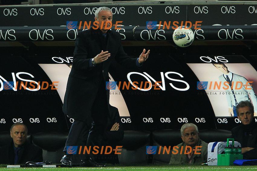 """Claudio Ranieri Inter.Milano 04/03/2012 Stadio """"S.Siro"""".Football / Calcio Serie A 2011/12 Inter vs Catania.Foto Insidefoto Paolo Nucci."""
