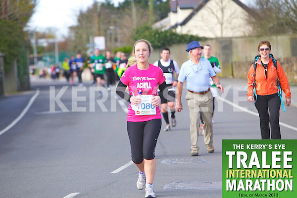 1086 Siobhan Conlon  who took part in the Kerry's Eye, Tralee International Marathon on Saturday March 16th 2013.