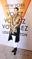 NEW YORK, NY October 26, 2017 Riley Keough attemd  Volez Voguez Voyagez x Louis Vuitton - Exhibition Preview at the Former America Stock Exchanging Build in New York October 26,  2017. Credit:RW/MediaPunch /NortePhoto.com