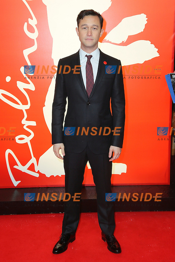 Joseph Gordon Levitt. Berlin 08/02/2013. 63th Berlinale 'Don Jon's Addiction' photocall. foto Mark Cape/Insidefoto