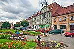 Głuchołazy, centrum miasta - rynek