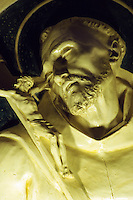 Italien, Toskana, Kloster La Verna, Terrakotta von Andrea della Rbbia