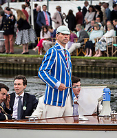 Henley Royal Regatta, Henley on Thames, Oxfordshire, 28 June - 2 July 2017.  Wednesday  15:24:31   28/06/2017  [Mandatory Credit/Intersport Images]<br /> <br /> Rowing, Henley Reach, Henley Royal Regatta.<br /> <br /> R C Phelps, Esq. Umpire