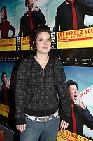 Montreal (Qc) CANADA - January 29, 2008 - Chloe Bourgeois, actress in TOUT EST PARFAIT<br /> by  Yves Christian Fournier, <br /> <br />  TOUT EST PARFAIT will open the 2008<br />  Rendez Vous du Cinema Quebecois.<br /> <br /> photo : Pierre Roussel (c)  Images Distribution