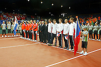 22-9-06,Leiden, Daviscup Netherlands-Tsjech Republic, Official opening ceremony