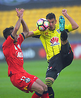 170101 A-League Football - Wellington Phoenix v Adelaide United