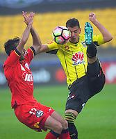 170101 A-League Football - Wellington Phoenix v Adelaide United