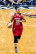 Washington, DC - Sept 17, 2017: Washington Mystics guard Kristi Toliver (20) in action during playoff game between the Mystics and Lynx at the Verizon Center in Washington, DC. (Photo by Phil Peters/Media Images International)