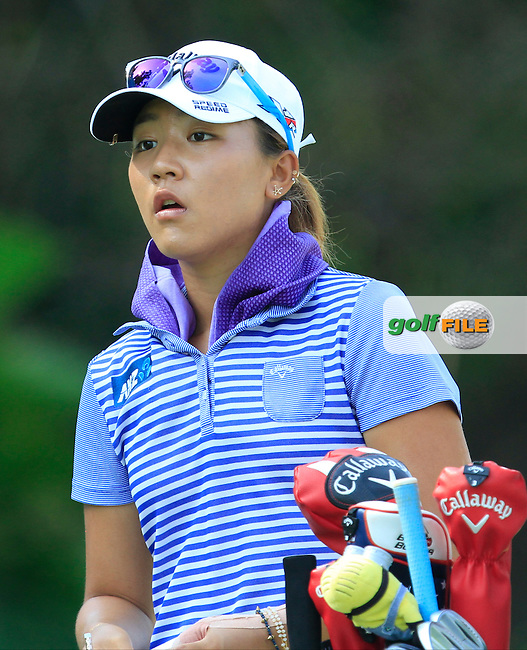 Lydia Ko (NZL) on the 2nd tee during Round 3 of the HSBC Women's Champions at the Sentosa Golf Club, The Serapong Course in Singapore on Saturday 7th March 2015.<br /> Picture:  Thos Caffrey / www.golffile.ie