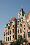 Minnesota, Twin Cities, Minneapolis-Saint Paul: The Landmark Building in downtown St Paul, by Rice Park.  This former Federal Building now hosts arts organizations..Photo mnqual297-75278..Photo copyright Lee Foster, www.fostertravel.com, 510-549-2202, lee@fostertravel.com.