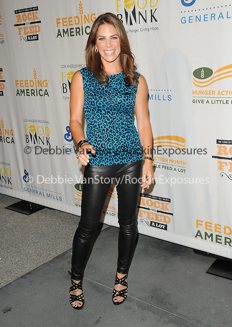 Jillian Michaels at The Rock a Little ,Feed a lot benefit concert to support the L.A. Regional Food Bank & Feeding America held at Club Nokia in Los Angeles, California on September 29,2009                                                                   Copyright 2009 DVS / RockinExposures