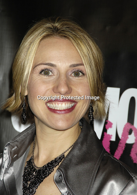 Publisher of CosmoGirl Kristine Welker ..at the CosmoGIRL luncheon celebrating future leaders with its annual Born To Lead awards on November 8, 2005 at The Atlman Building. ..Photo by Robin Platzer, Twin Images