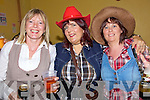 Cowgirls - Pictured having a great night out at The Barn Dance in aid of Lifepack Group on Saturday night in the Ballyheigue Community Hall  were l/r Helen Lucid-Flint, Mary Lucid and Elenor Murphy, all from Ballyheigue.