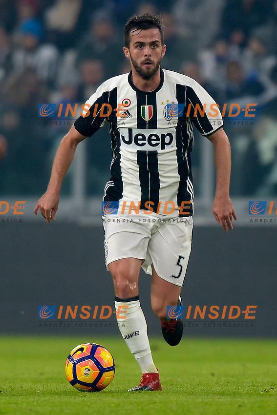 Miralem Pjanic Juventus <br /> Torino 03-12-2016, Juventus Stadium, Football Calcio 2016/2017 Serie A, Juventus - Atalanta, Foto Filippo Alfero/Insidefoto