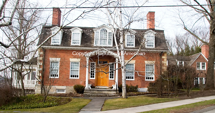 SHARON, CT- 14 APRIL 07- 041407JT05- <br /> The King House, at the head of the green in Sharon, has been recently approved for placement on the national registry. The house has a nearly unbroken history of ownership in one family.<br /> Josalee Thrift Republican-American