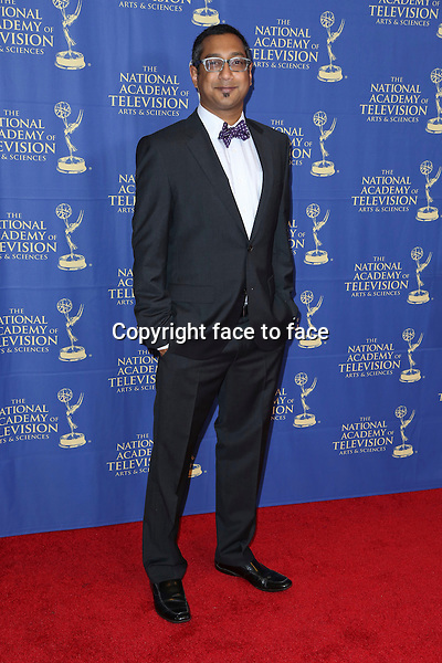 LOS ANGELES, CA - JUNE 20: Suren Wijeyaratne at the Daytime Creative Arts Emmy Awards Gala at the Westin Bonaventure Hotel on June 20, 2014 in Los Angeles, California. Credit: mpi86/MediaPunch<br /> Credit: MediaPunch/face to face<br /> - Germany, Austria, Switzerland, Eastern Europe, Australia, UK, USA, Taiwan, Singapore, China, Malaysia, Thailand, Sweden, Estonia, Latvia and Lithuania rights only -