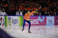 SCHAATSEN: HEERENVEEN: IJsstadion Thialf, 11-01-2013, Seizoen 2012-2013, Essent ISU EK allround, 500m Men, Sven Kramer (NED), ©foto Martin de Jong