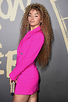 LONDON, UK. September 14, 2019: Ella Eyre at the Fashion for Relief Show 2019 at the British Museum, London.<br /> Picture: Steve Vas/Featureflash