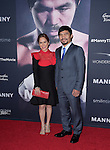 Manny Pacquiao and Jinkee Pacquiao attends The Los Angeles premiere of<br /> MANNY at The TCL Chinese Theater  in Hollywood, California on January 20,2015                                                                               &copy; 2015 Hollywood Press Agency