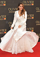 Preeya Kalidas at the Olivier Awards 2018, Royal Albert Hall, Kensington Gore, London, England, UK, on Sunday 08 April 2018.<br /> CAP/CAN<br /> &copy;CAN/Capital Pictures<br /> CAP/CAN<br /> &copy;CAN/Capital Pictures