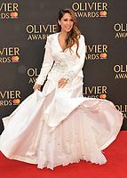 Preeya Kalidas at the Olivier Awards 2018, Royal Albert Hall, Kensington Gore, London, England, UK, on Sunday 08 April 2018.<br /> CAP/CAN<br /> &copy;CAN/Capital Pictures<br /> CAP/CAN<br /> &copy;CAN/Capital Pictures