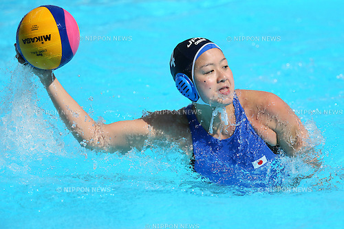 Shino Magariyama (JPN), <br /> JULY 28, 2015 - Water Polo :<br /> 16th FINA World Championships Kazan 2015<br /> Men's Preliminary Round<br /> match between Brazil 11-8 Japan<br /> at Water Polo Arena in Kazan, Russia.<br /> (Photo by Yohei Osada/AFLO SPORT)