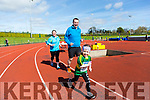 At the Glenflesk ag rite Run for the Bus in aid of Kerry Cancer support Group Health link Bus at  An Riocht AC Grounds Castleisland on Sunday  out in front was Katie Butler with mom and dad left behind Irene Butler and David Butler