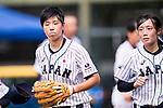 #3 Ono Ayumi of Japan during the BFA Women's Baseball Asian Cup match between Japan and India at Sai Tso Wan Recreation Ground on September 6, 2017 in Hong Kong. Photo by Marcio Rodrigo Machado / Power Sport Images