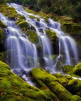 Upper Proxy Falls, Three Sisters Wilderness,Oregon