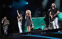 11 June 2017 - Nashville, Tennessee - Jimi Westbrook, Kimberly Schlapman, Karen Fairchild, Phillip Sweet, Little Big Town. 2017 CMA Music Festival Nightly Concert held at Nissan Stadium. Photo Credit: Laura Farr/AdMedia